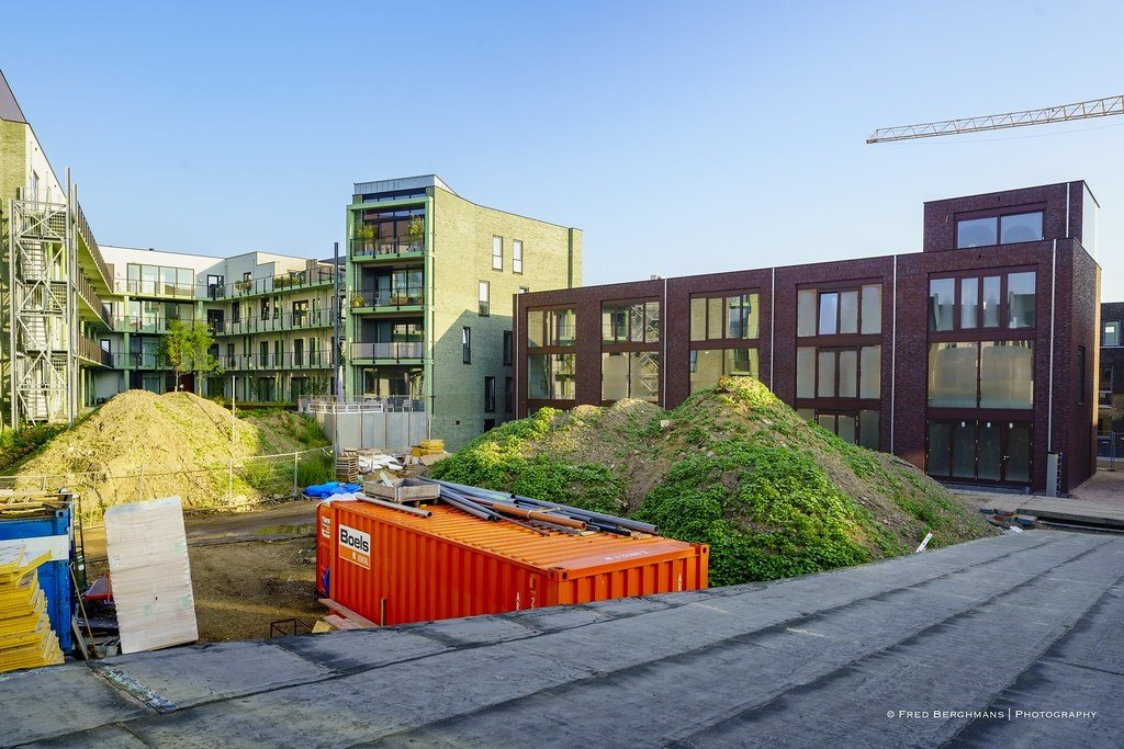 CPO-project Parkwoningen - fotograaf Fred Berghmans